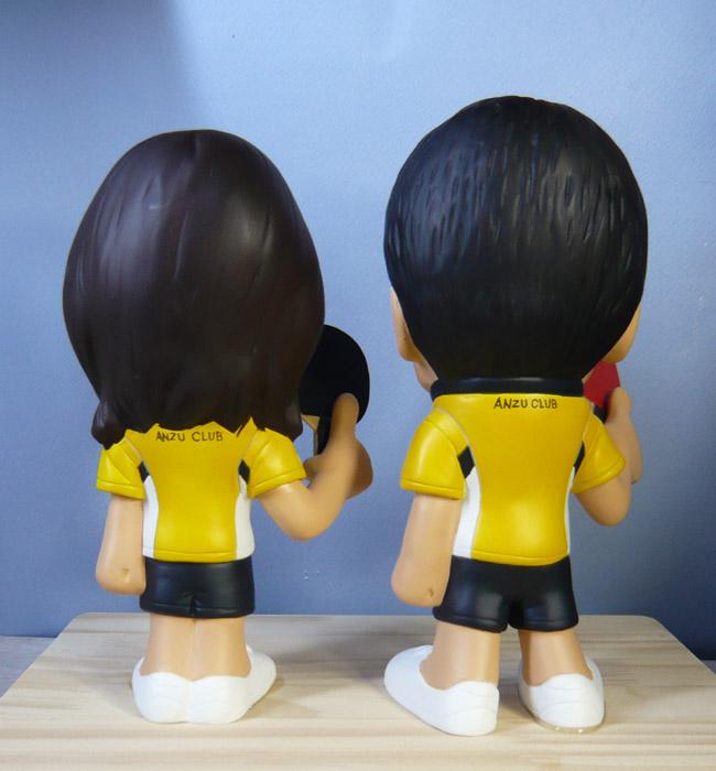 ウェルカムドール・お揃いの卓球ウェアで!!-そっくり人形参考作品例-63-5